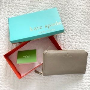 Kate Spade Large Continental Zip Wallet